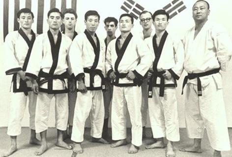 older generation taekwondo masters